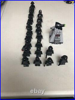 LEGO Star Wars First Order Star Destroyer 2017 (75190) With Minifigure Lot