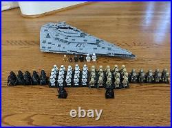 LEGO Star Wars First Order Star Destroyer 2017 (75190) plus 62 minifigures