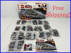 LEGO Star Wars First Order Star Destroyer 75190 (Open Box)