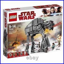 LEGO Star Wars The Last Jedi First Order Heavy Assault Walker 75189 New Sealed