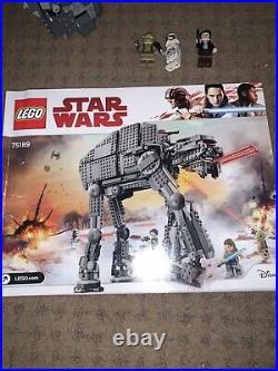 Lego Star Wars 75189 First Order Heavy Assault Walker In Good Condition