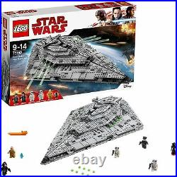 Lego Star Wars 75190 First Order Star Destroyer 2017 Neuf Sans Boite Avec Notice