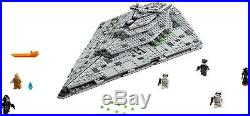 Lego Star Wars 75190 First Order Star Destroyer Authentic Factory Sealed NEW