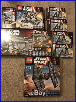Lego Star Wars First Order Army Lot #75103 First Order Transporters