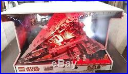 Lego Star Wars First Order Star Destroyer Toys R Us Store Display Case