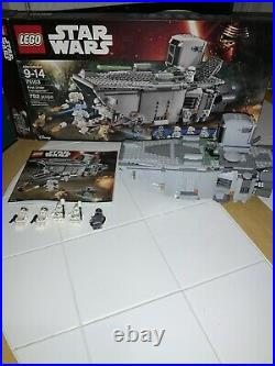 Lego Star Wars First Order Transporter (75103) Complete Withbox, Manual-retired