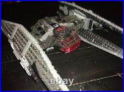 Lego Star Wars First Order star ship lot, kylo ren fighter and drop ship