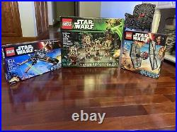 Lego Star Wars Lot. Brand New Sealed. 75102 X-wing 10236 Ewok 75101 First Order