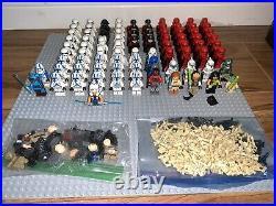 Lego Star Wars Minifigure Lot of 120 Ahsoka 501st Wolffe Maul Eeth First Order