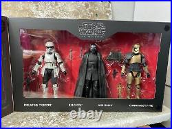 Lot x3 Star Wars Galaxys Edge Black Series Smuggler Run Droid Depot First Order