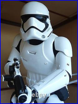 Lucasfilm Anovos Star Wars Tfa First Order Stormtrooper Statue Figure Life-size