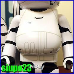 Medicom 1000% Bearbrick 2016 Be@rbrick Star Wars First Order Stormtrooper
