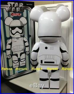 Medicom 2016 Bearbrick Stussy Star Wars 1000% First Order Stormtrooper Be@rbrick