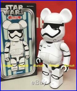 Medicom 2016 Expo Be@rbrick Star Wars 400% First Order Stormtrooper Bearbrick 1p