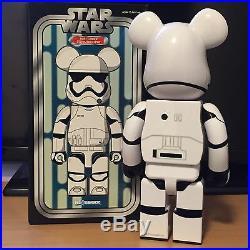 Medicom 400% Bearbrick 2016 Be@rbrick Star Wars First Order Stormtrooper