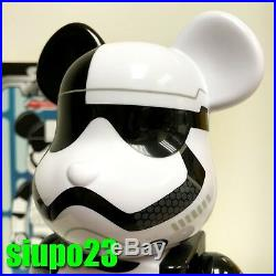 Medicom 400% Bearbrick StarWars Be@rbrick First Order Stormtrooper Executioner