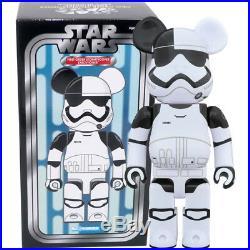 Medicom Be@rbrick Bearbrick Star Wars First Order Stormtrooper Executioner 400%