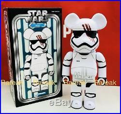 Medicom Bearbrick Star Wars 400% First Order Stormtrooper FN-2187 Finn Be@rbrick