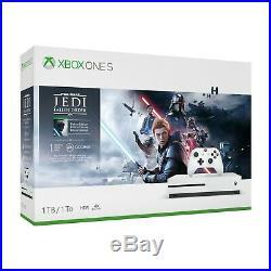 Microsoft Xbox One S 1TB Star Wars Jedi Fallen Order Bundle Brand New