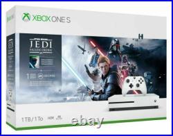 Microsoft Xbox One S 1TB Star Wars Jedi Fallen Order Bundle Open Box