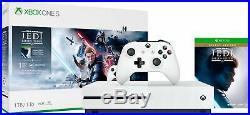 Microsoft Xbox One S 1TB Star Wars Jedi Fallen Order Deluxe Edition Consol