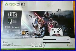 Microsoft Xbox One S 1TB Star Wars JediFallen Order Deluxe Edition Bundle new