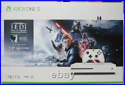Microsoft Xbox One S 4K Star Wars Jedi Fallen Order Deluxe 1TB Limited Console