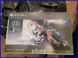 Microsoft Xbox One X 1TB Console Star Wars Jedi Fallen Order Bundle