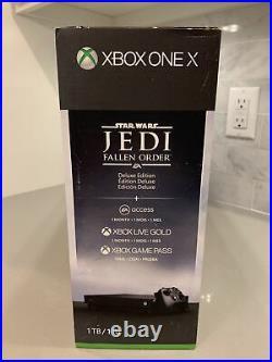 Microsoft Xbox One X 1TB Star Wars Jedi Fallen Order Bundle Brand New In Box