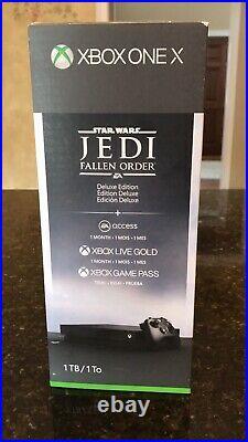 Microsoft Xbox One X 1TB Star Wars Jedi Fallen Order Bundle with Extra Controller