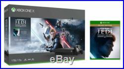Microsoft Xbox One X 1TB Star Wars Jedi Fallen Order Deluxe Edition Console