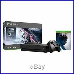 Microsoft Xbox One X 1TB StarWars Jedi Fallen Order DeluxeEdition Console Bundle