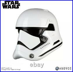 NEW Anovos Star Wars The Force Awakens First Order Stormtrooper Plastic Helmet