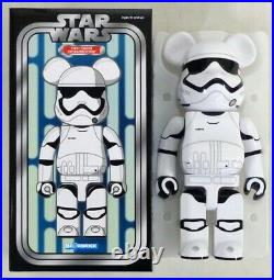 NEW Authentic Medicom 400% 2016 Bearbrick First Order Stormtrooper Star Wars