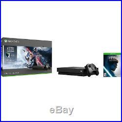 NEW Microsoft Xbox One X 1TB Star Wars Jedi Fallen Order Deluxe Edition Bundle