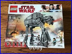 NEW SEALED LEGO Star Wars First Order Heavy Assault Walker (75189) Never Opened