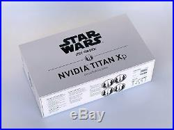 NVIDIA Titan Xp Pascal 12GB Star Wars Jedi Order Collectors Edition Card with Box
