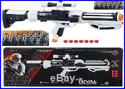 Nerf Rival Star Wars First Order Stormtrooper Blaster Ages 14+ Toy Gun Fire Play