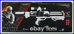 New NERF Star Wars First Order Stormtrooper Blaster RIVAL Gun 7 Rounds E2145 NIB