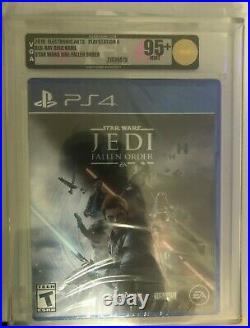 New Sealed Star Wars Jedi Fallen Order VGA 95+ MINT Grade PS4