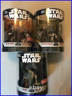 New Star Wars ORDER 66 COMPLETE SET OF 12 2-PACKS Target Exclusive Vader Windu