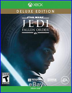 New Xbox One S 1TB Console Star Wars Jedi Fallen Order White Huge 5 Games Bundle
