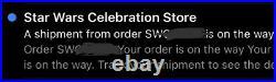 ORDER SHIPPED! Funko Obi-Wan Kenobi #392 Star Wars Celebration LE 3000
