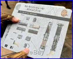 PRE ORDER Star Wars Galaxy's Edge Savis Workshop Custom Lightsaber (YOU DESIGN)