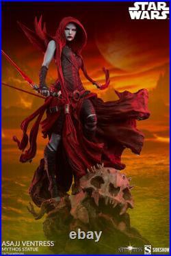 Pre order Assaj Ventress Mythos Statue Sideshow Star Wars