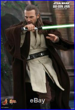 Pre-order Hot Toys Mms525 Qui-gon Jinn Star Wars Brand New Jedi