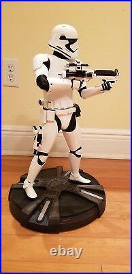 SIDESHOW Star Wars First Order Stormtrooper Premium Format EXCLUSIVE Statue #320