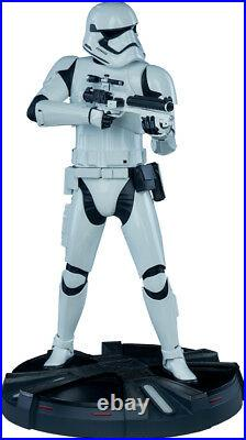 STAR WARS First Order Stormtrooper 19.5 Premium Format Statue (Sideshow) #NEW
