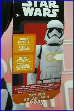 STORM TROOPER 4ft First Order Battle Buddy /First and Only Run Original Disney A