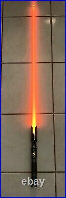 Saberforge Fallen Order Weathered Eco Saber Tier Amber LED